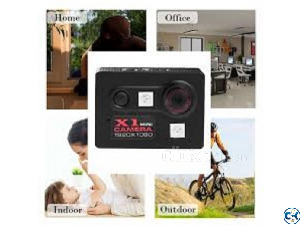 Spy camera X1 Portable 1080P 01908 12 48 08 | ClickBD large image 0