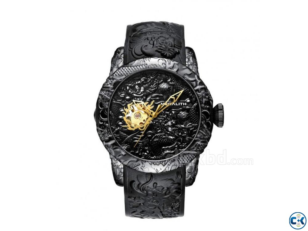 MEGALITH Dragon Sculpture Watch For Men | ClickBD large image 0