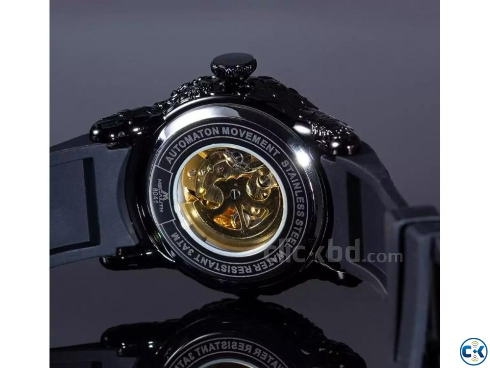 MEGALITH Dragon Sculpture Watch For Men | ClickBD large image 2