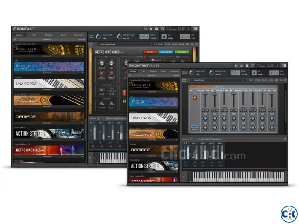 Music Software VSTi Kontakt Hackintosh | ClickBD large image 0