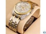 Stainless Steel Quartz Wrist Watch for Men