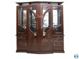 Dalia Artificial Wooden Showcase