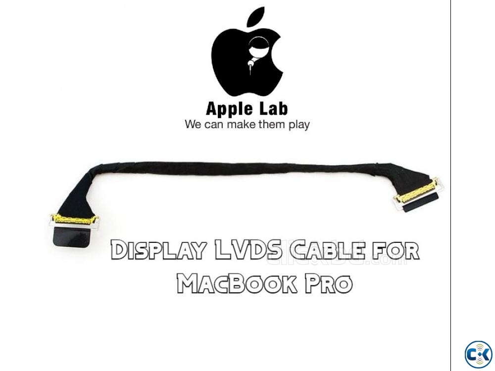 Display LVDS Cable for MacBook Pro | ClickBD large image 0