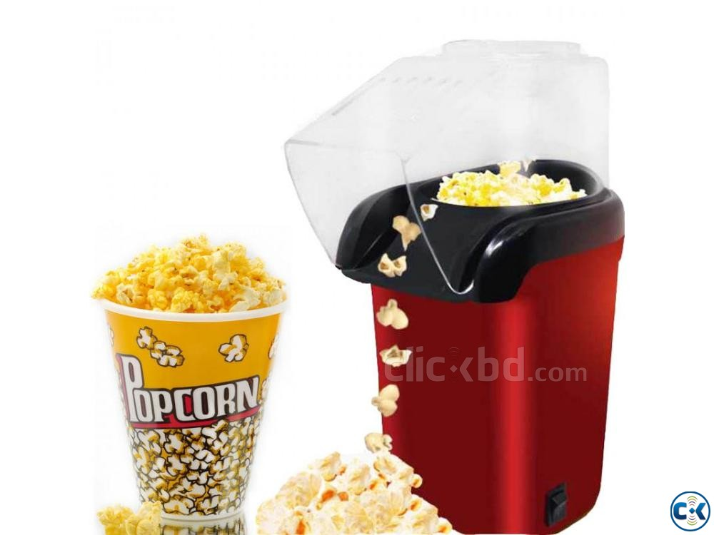 Electric Popcorn Maker Machine Automatic | ClickBD large image 0