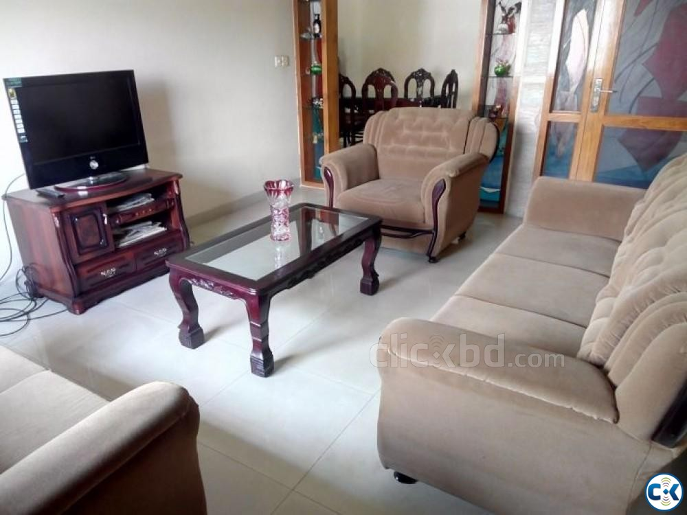 1400sft Beautiful Apartment For Rent Banani | ClickBD large image 0