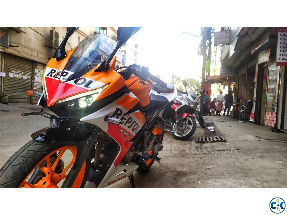HONDA CBR 150R 2019 Repsol Edition ABS Breaking System | ClickBD large image 1