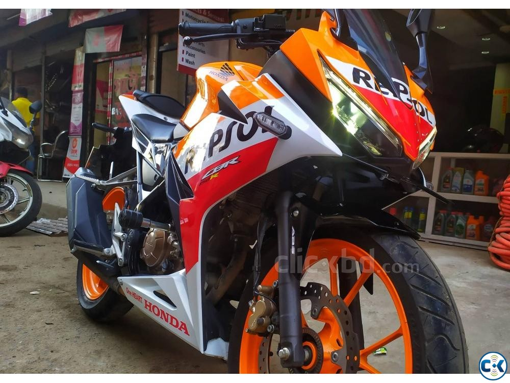 HONDA CBR 150R 2019 Repsol Edition ABS Breaking System | ClickBD large image 2