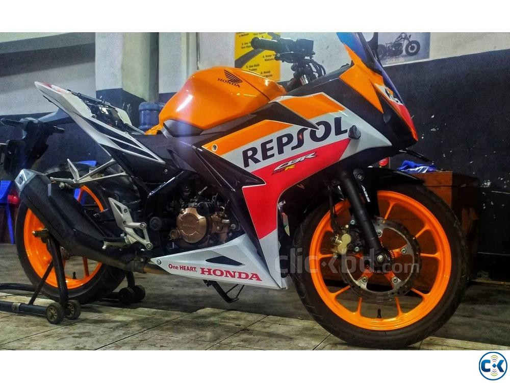HONDA CBR 150R 2019 Repsol Edition ABS Breaking System | ClickBD large image 3