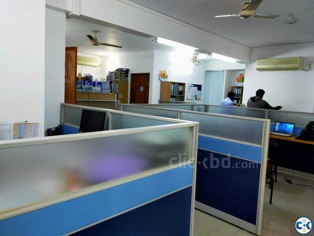 New Office Space For Rent Banani | ClickBD large image 1