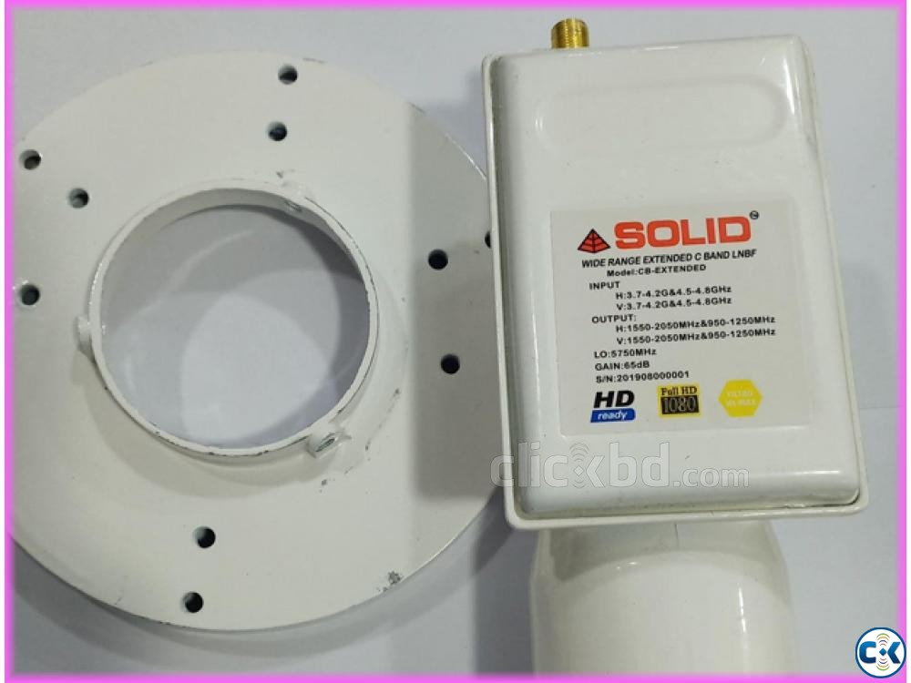 Solid C Band Lnb 4.5-4.8Ghz | ClickBD large image 0