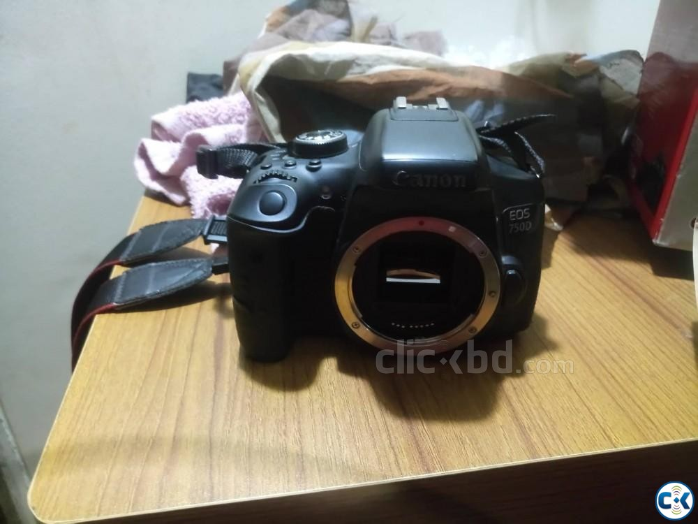 Cannon Eos 750D Body | ClickBD large image 0