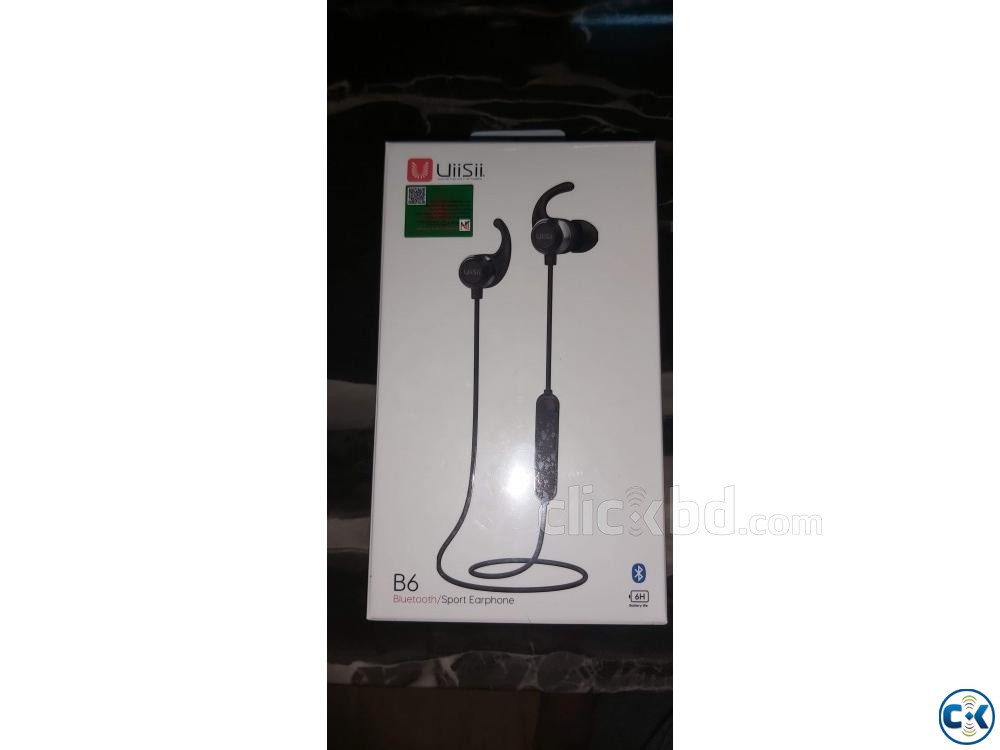 Uiisii B6 Bluetooth sports earphone | ClickBD large image 0