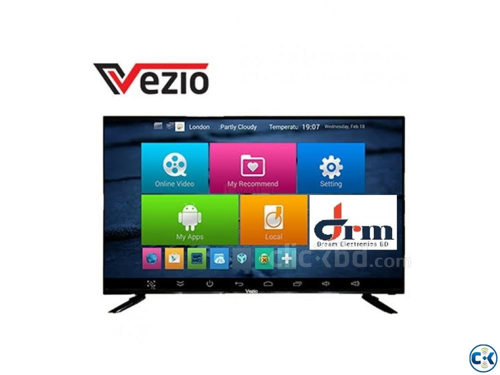 VEZIO 32 INCH FULL HD LED TV 1GB 8GB | ClickBD large image 0