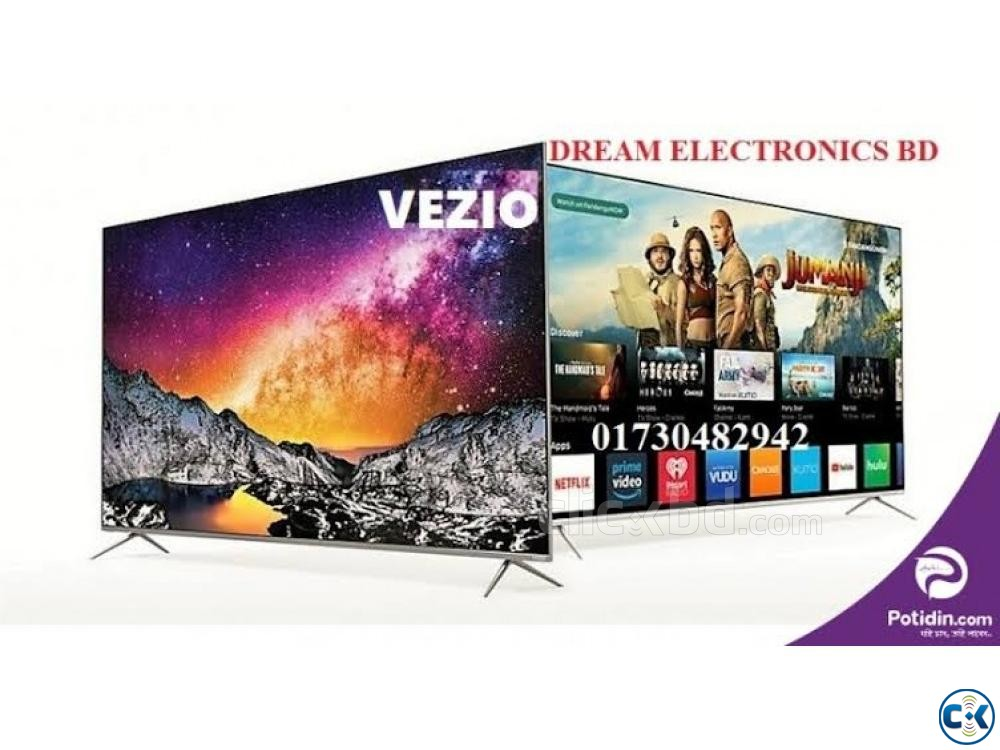 VEZIO 32 INCH FULL HD LED TV 1GB 8GB | ClickBD large image 1