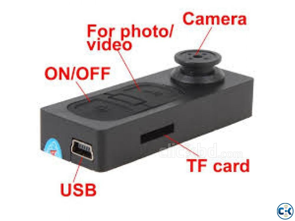 Spy camera BUtton TF 01643 26 03 20 | ClickBD large image 2