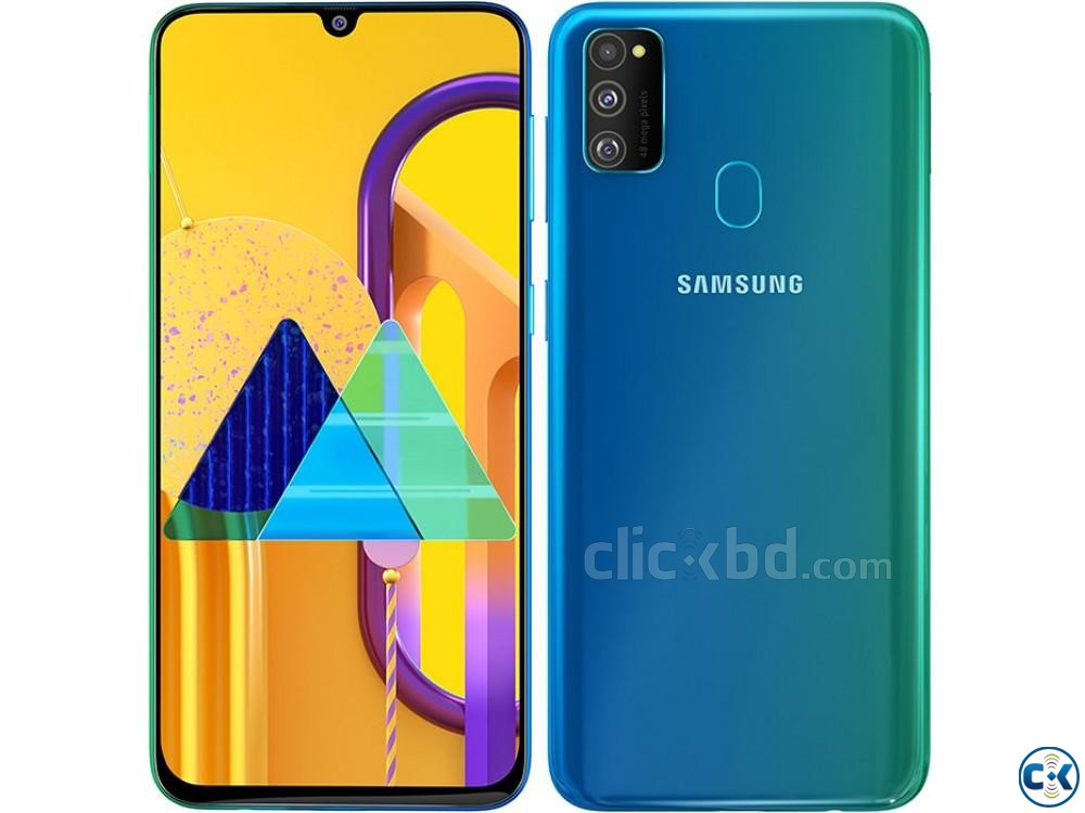 Samsung Galaxy M30s 128GB Black Blue 6GB RAM  | ClickBD large image 2