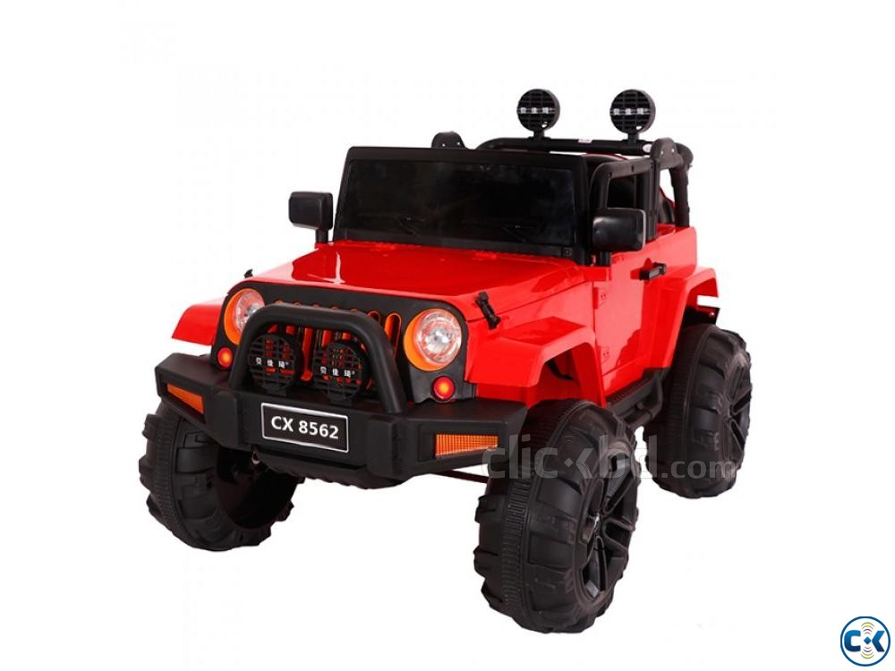 Baby Jeep Car Large Baby Car Heavy Baby Car CX8562 | ClickBD large image 0