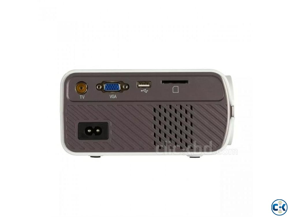 Uhappy U45 Mini LED Projector With TV Port HD Projector | ClickBD large image 3