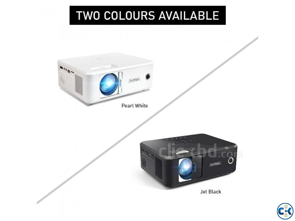 Everycom X20 Projector 3D HD Mini Projector | ClickBD large image 1