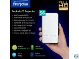 Everycom S6 Android Projector 3D HD Mini Pocket Projector