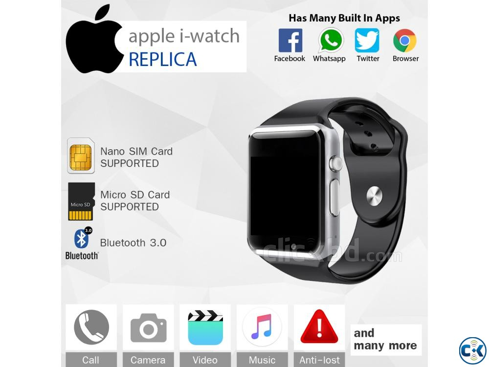 Smart Watch Mobile Watch SIM Supported Watch | ClickBD large image 0