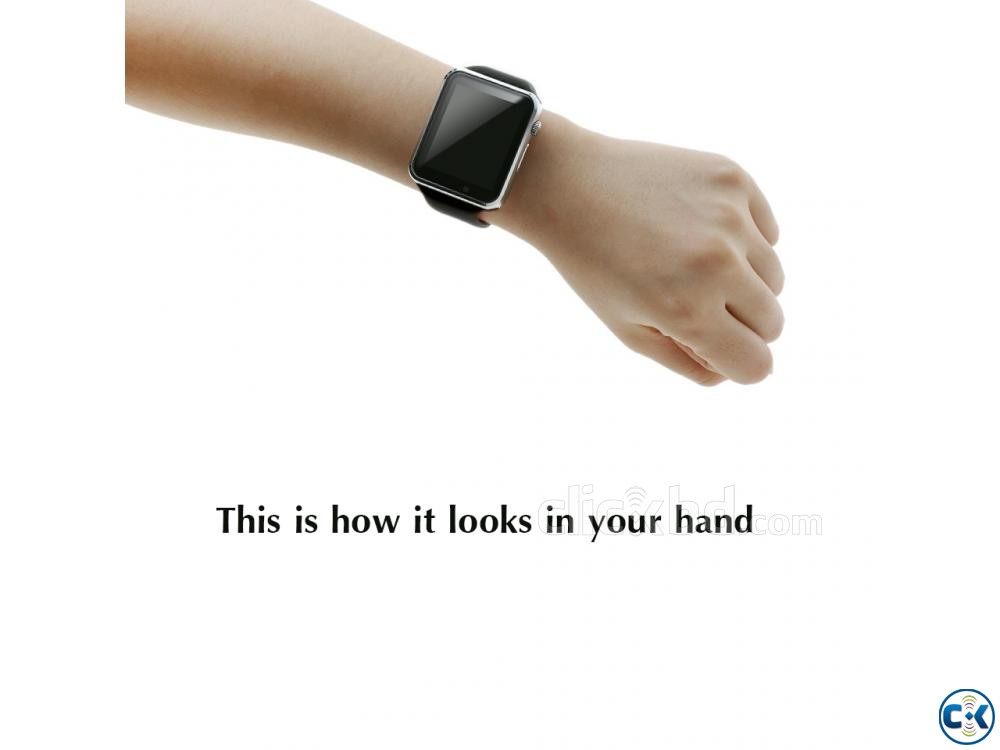 Smart Watch Mobile Watch SIM Supported Watch | ClickBD large image 3