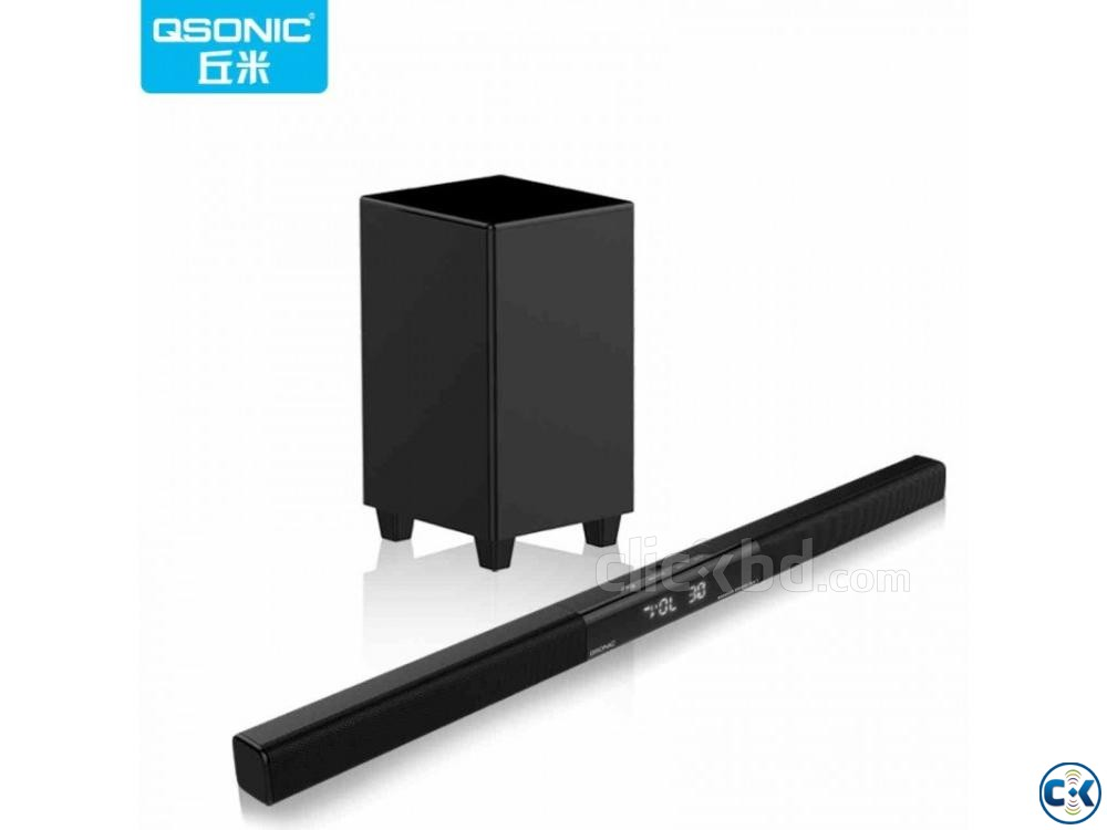 Qbar3 650W Sound Bar with Subwoofer | ClickBD large image 0