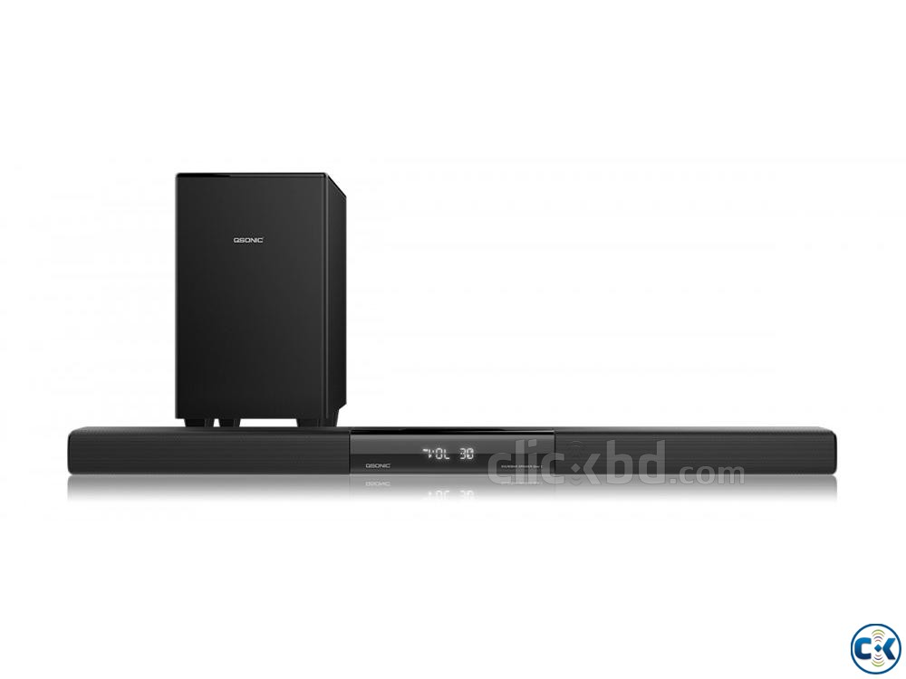 Qbar3 650W Sound Bar with Subwoofer | ClickBD large image 2