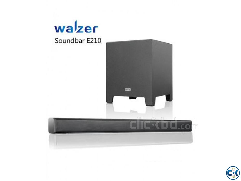 Walzer E210 360W Sound Bar with Subwofer | ClickBD large image 0
