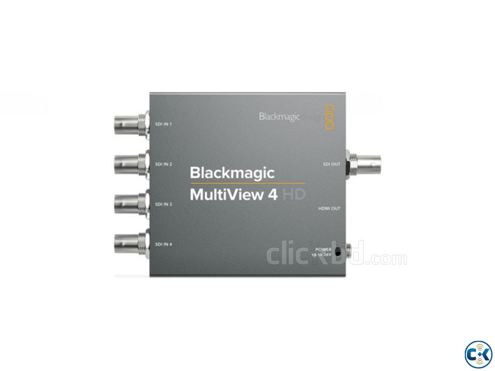 Blackmagic MultiView 4 HD | ClickBD large image 0