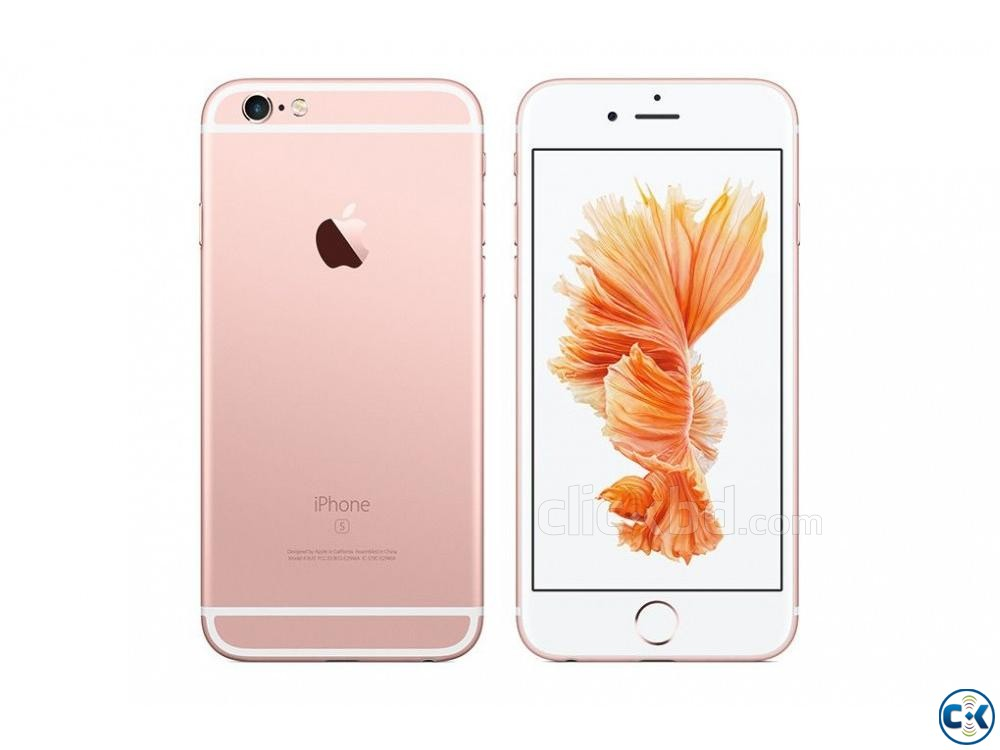 Apple iphone 6s 32GB Grey Gold 2GB RAM  | ClickBD large image 1