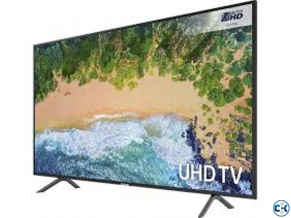 Samsung 65 INCH NU7100 R-SERIES 65 UHD 4K Smart LED TV | ClickBD large image 1