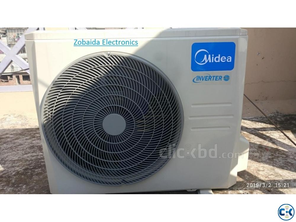 Midea 1.5 Ton MSM-18CRI Hot Cool AC Inverter Series  | ClickBD large image 0