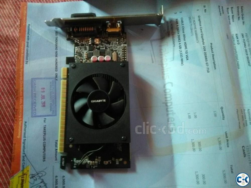 GT 710 2GB DDR 5 Graphics Card | ClickBD large image 3