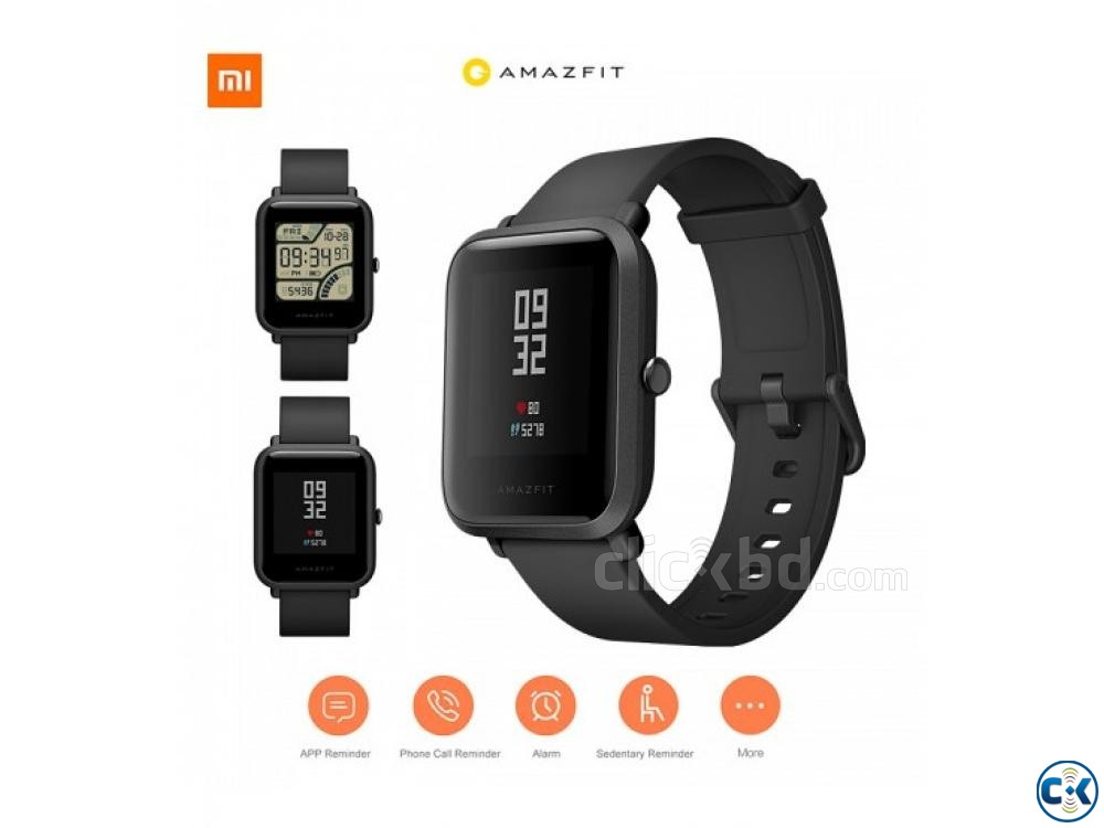 AMAZFIT Bip Lite Smart Watch Water-proof 01611288488 | ClickBD large image 0