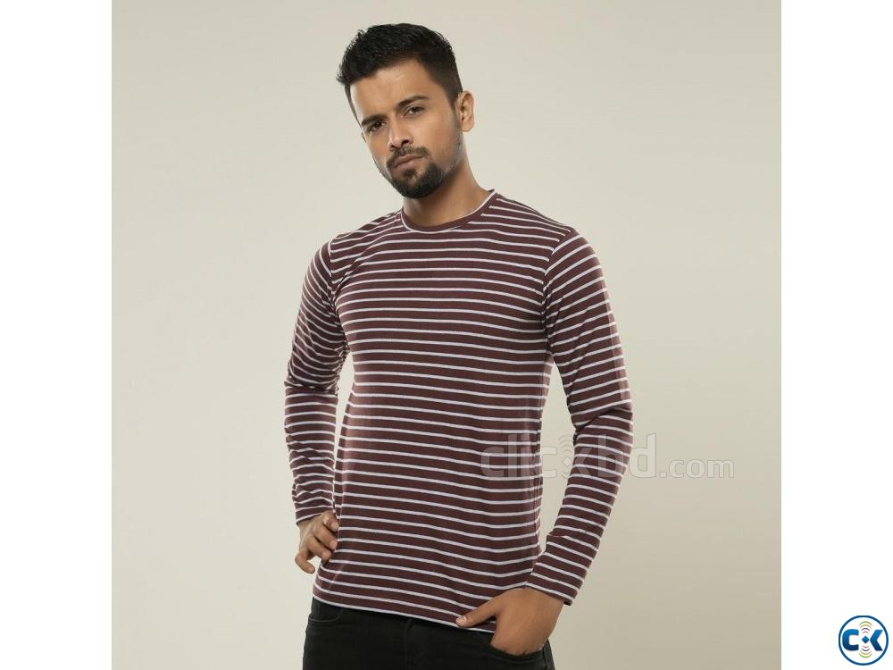 Cotton Slim Fit Full Sleeve | ClickBD large image 0