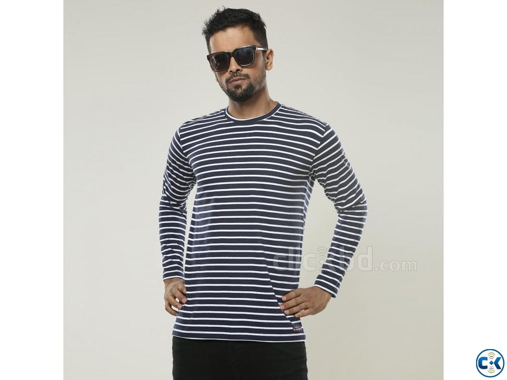Cotton Slim Fit Full Sleeve | ClickBD large image 1