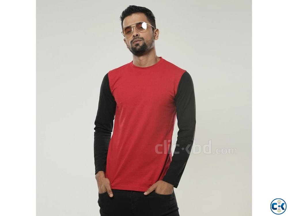Cotton Slim Fit Full Sleeve | ClickBD large image 2
