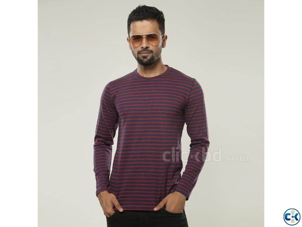 Cotton Slim Fit Full Sleeve | ClickBD large image 3