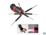 8 in 1 Screwdriver Torch with powerful Light
