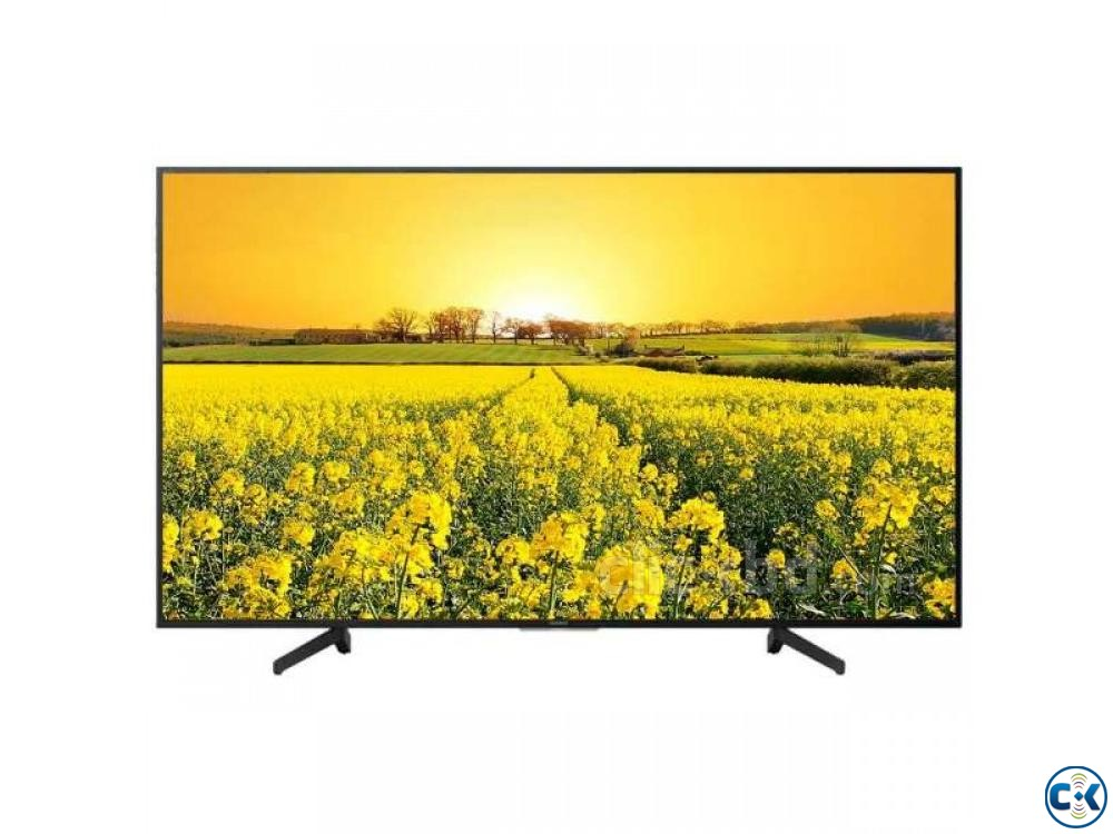 Sony Bravia 4K HDR Android LED TV KD-55X8000G 55 Inch | ClickBD large image 4