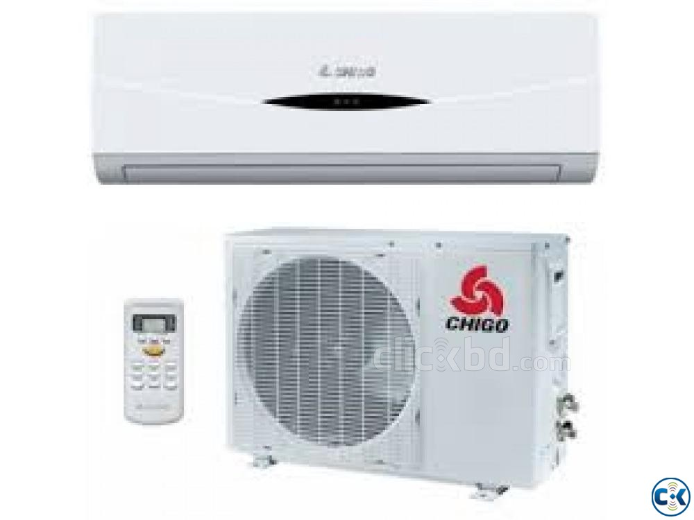 CHIGO 2 Ton Energy Saving Wall Split AC New | ClickBD large image 0
