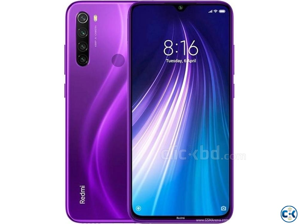 Xiaomi Note 8 128GB Black Blue White Purple 6GB RAM  | ClickBD large image 3