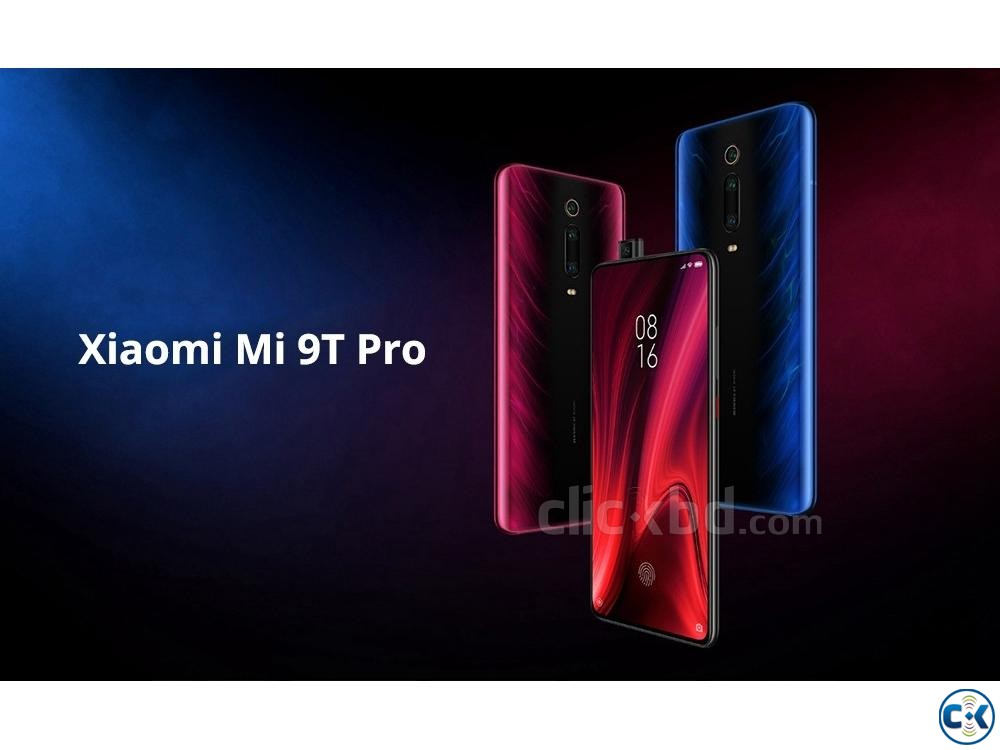 Xiaomi Mi 9T Pro 128GB Black Blue 6GB RAM  | ClickBD large image 0