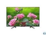 Sony Bravia 49 INCH X8000G 4K UHD ANDROID SMART LED TV