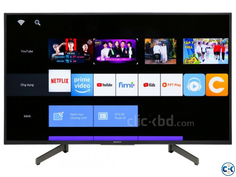 Sony Bravia W660G 43 inch LED Smart TV | ClickBD large image 0