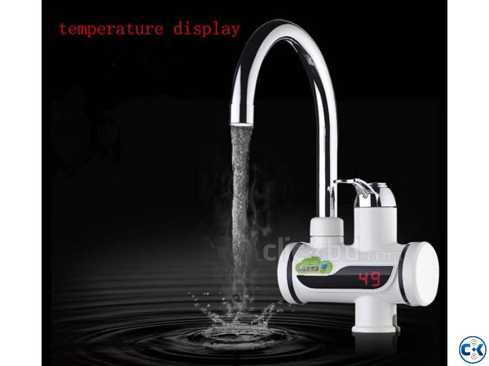 Instant Hot Water Tap with Digital Meter | ClickBD large image 0