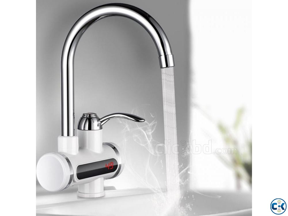 Instant Hot Water Tap with Digital Meter | ClickBD large image 1