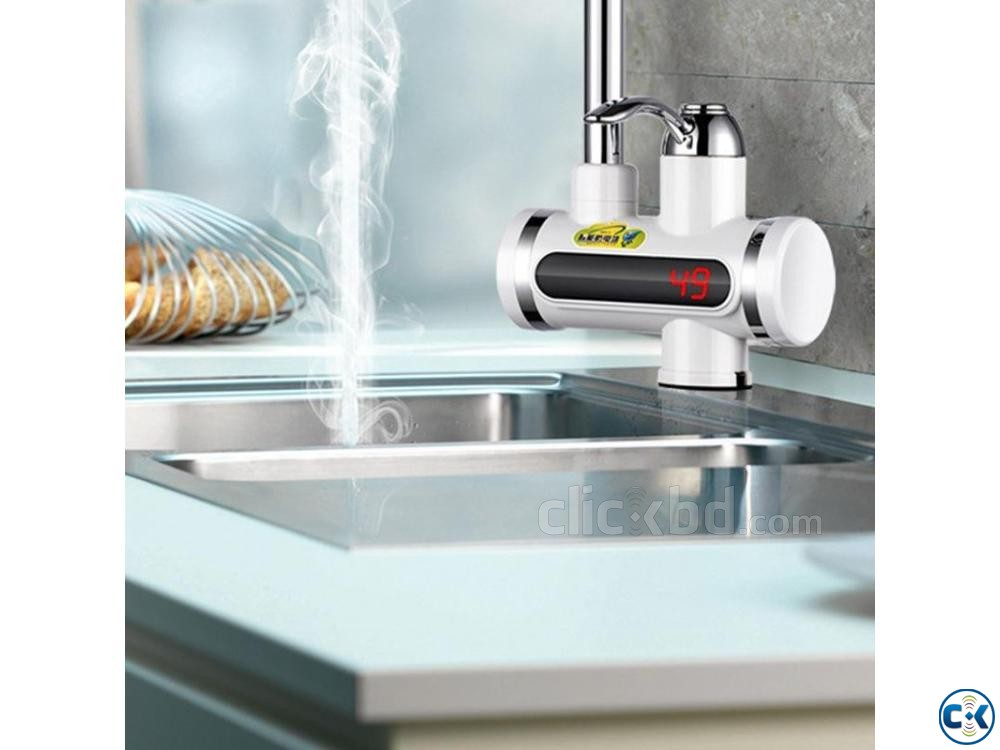 Instant Hot Water Tap with Digital Meter | ClickBD large image 2