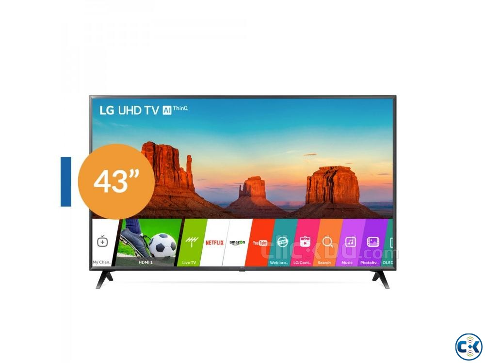 Original Smart LED LG Full HD LK5730 Tv 43  | ClickBD large image 1